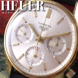 ★超絶美麗★1970's/ホイヤー/カレラ/メンズ/腕時計 WW1377(腕時計(アナログ))