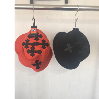 Chrome Hearts - chrome herts type bucket hat