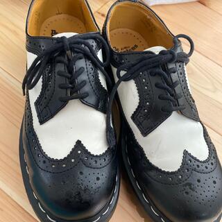ドクターマーチン(Dr.Martens)のドクターマーチン ウィングチップシューズ UK4(ローファー/革靴)
