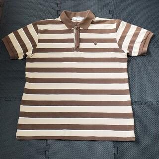 A BATHING APE - アベイシングエイプ ワンポイントロゴ 半袖ポロシャツ 初期タグ