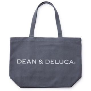 ディーンアンドデルーカ(DEAN & DELUCA)のDEAN & DELUCA トートバッグ チャコールグレー L・ミニ 2点セット(トートバッグ)