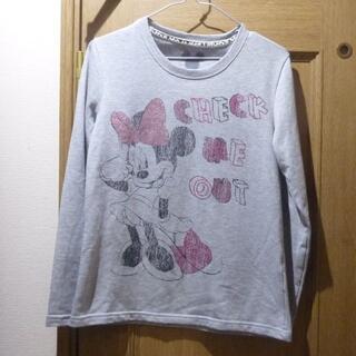 ディズニー(Disney)のディズニー ミニーちゃんのトレーナー サイズM [832](トレーナー/スウェット)