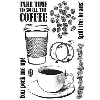 クリアスタンプ コーヒー(はんこ)