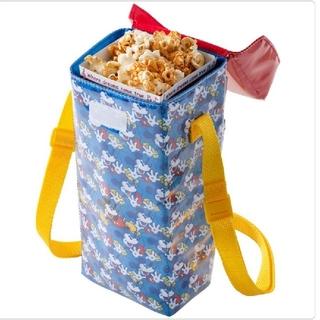 Disney - ディズニー ポップコーン ケース レギュラーボックス バケット スーベニア 青