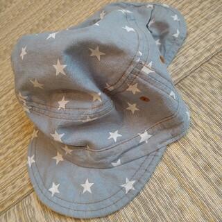 西松屋 - 日除けつき帽子 頭囲52cm