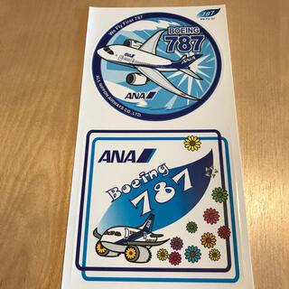 エーエヌエー(ゼンニッポンクウユ)(ANA(全日本空輸))のANA ステッカー B787(航空機)