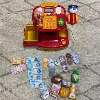 アンパンマン(アンパンマン)のアンパンマン レジ おもちゃ(知育玩具)