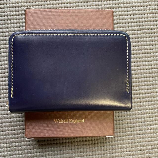 WHITEHOUSE COX(ホワイトハウスコックス)のホワイトハウスコックス ミニジップウォレット ネイビー S1941 メンズのファッション小物(コインケース/小銭入れ)の商品写真