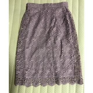 ユニクロ(UNIQLO)のユニクロ レーススカート(ひざ丈スカート)