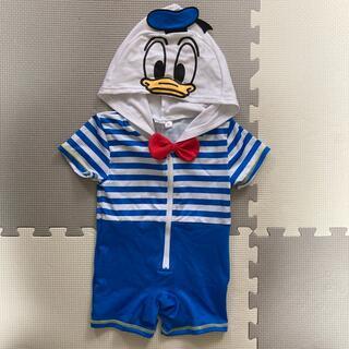 ディズニー(Disney)のドナルド 水着 スイムウェア 90cm(水着)