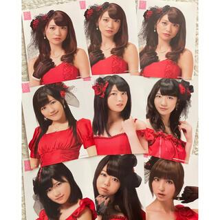 エーケービーフォーティーエイト(AKB48)のAKB48 A4サイズのポスター まとめ売り(アイドルグッズ)