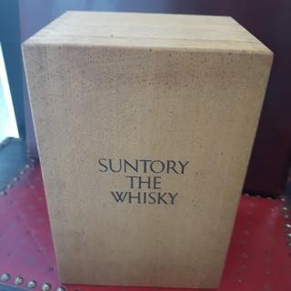 サントリー - サントリー ザウイスキー 木箱 空き箱