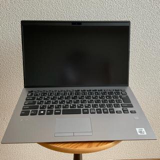 バイオ(VAIO)の【ノートパソコン】VAIO SX14  シルバー SIMフリー i7(ノートPC)
