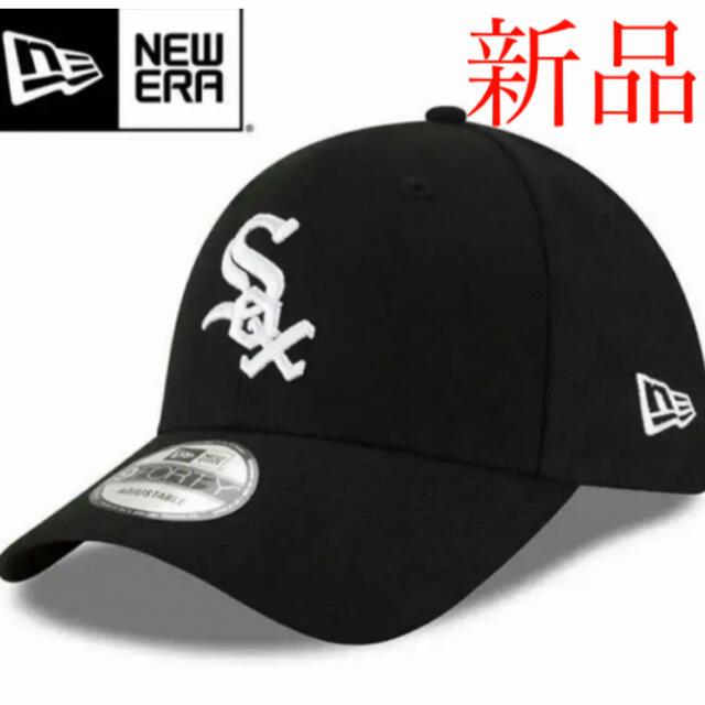 NEW ERA(ニューエラー)のNew Era Chicago White Sox ホワイトソックス キャップ黒 メンズの帽子(キャップ)の商品写真