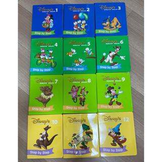 ディズニー(Disney)の中古 DWE Step by Step DVD 1〜12 動作良好 格安(キッズ/ファミリー)