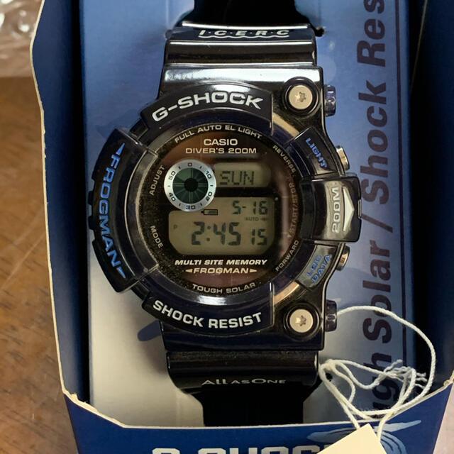 G-SHOCK(ジーショック)のG-SHOCK  イルクジ フロッグマン メンズの時計(腕時計(デジタル))の商品写真
