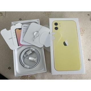 Apple - ★iphone11 64GB イエロー、2020年12月、SIMフリー端末
