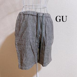 ジーユー(GU)のリネンブレンドイージーハーフパンツ(ショートパンツ)
