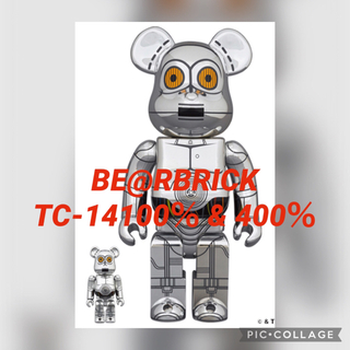 MEDICOM TOY - BE@RBRICK TC-14(TM) 100% & 400%