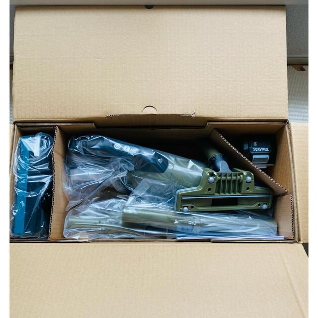 Makita(マキタ)のマキタ 40V 新品 充電式クリーナー CL001GRDCO   新色オリーブ スマホ/家電/カメラの生活家電(掃除機)の商品写真