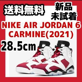 ナイキ(NIKE)の28.5cm NIKE AIR JORDAN6 CARMINE カーマイン 赤(スニーカー)