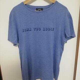 アーペーセー(A.P.C)のA.P.C メンズTシャツ Lサイズ(Tシャツ/カットソー(半袖/袖なし))