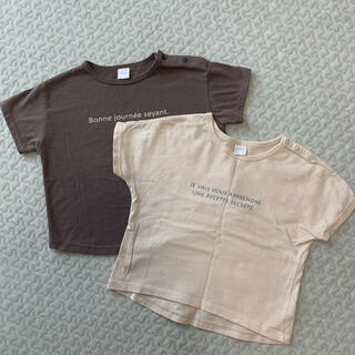 tete a tete Tシャツ 2枚セット
