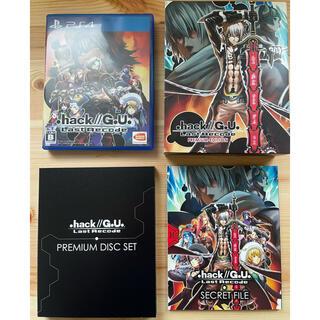 バンダイナムコエンターテインメント(BANDAI NAMCO Entertainment)の.hack//G.U. Last Recode PREMIUM EDITION(家庭用ゲームソフト)