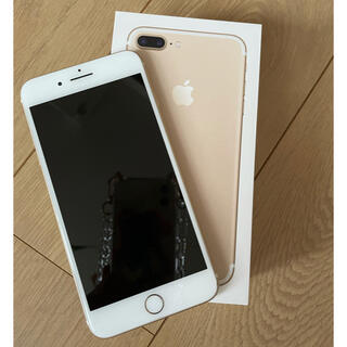 Apple - iPhone 7 Plus Gold 128 GB SIMフリー
