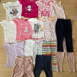 ユニクロ(UNIQLO)の女の子 まとめ売り 90センチ(Tシャツ/カットソー)
