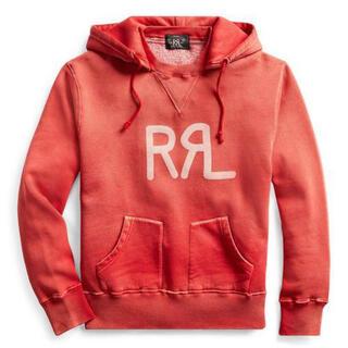 RRL - 新品*RRL*ロゴ フリース フーディ*M* ダブルアールエル