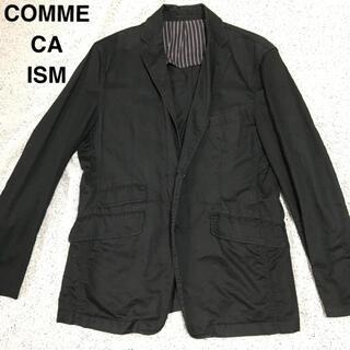 コムサイズム(COMME CA ISM)のCOMME CA ISM 麻混デザインジャケット(テーラードジャケット)
