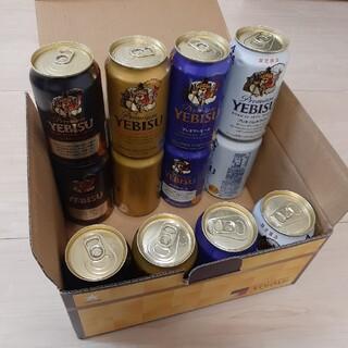 サッポロ - エビスビール 350mL 4種×3缶=12缶