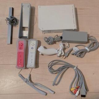 ウィー(Wii)の【中古】Wii 本体 諸々セット(家庭用ゲーム機本体)