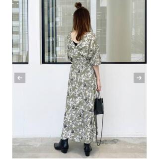 L'Appartement DEUXIEME CLASSE - L'Appartement Flower Print Madam Dress新品