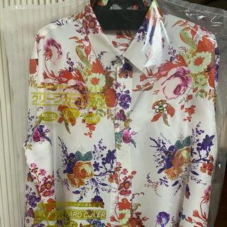 ディオールオム(DIOR HOMME)のDIOR × KAWS 19SS フラワーシルクシャツ(シャツ)