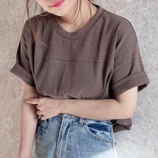 アンティローザ(Auntie Rosa)のヘヴィーウェイトコットンフットボールTシャツ(Tシャツ(半袖/袖なし))