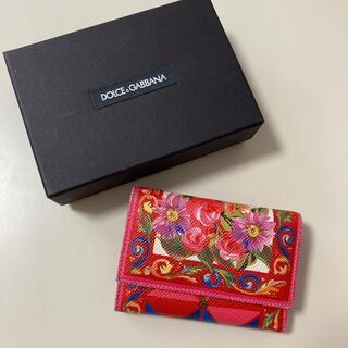 ドルチェアンドガッバーナ(DOLCE&GABBANA)のドルチェ&ガッパーナ 三つ折り 財布(財布)