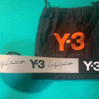Y-3 - Y-3  Y3  ベルト YOHJI YAMAMOTO