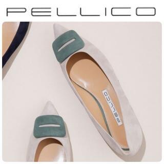 PELLICO - 定価59400円 新品 ペリーコ 新木型 アネッリ FIBBIA フラット 37