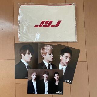 ジェイワイジェイ(JYJ)のJYJポーチ&ブロマイド(K-POP/アジア)