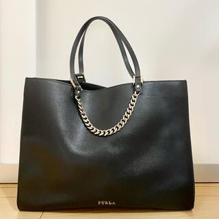 フルラ(Furla)の【美品】フルラA4 2way 肩掛けハンドバッグ&(ショルダーバッグ)