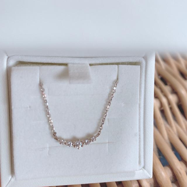 4℃(ヨンドシー)の4℃ ネックレス ヨンドシー silver レディースのアクセサリー(ネックレス)の商品写真