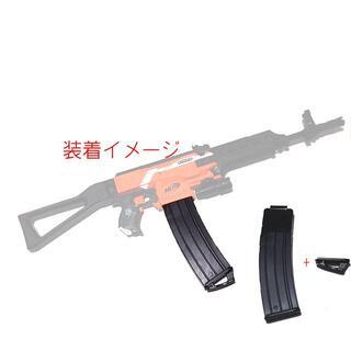 新品 WORKER 22連装 バナナ マガジン NERF ナーフ 改造 カスタム(カスタムパーツ)