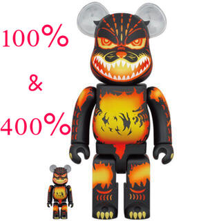 MEDICOM TOY - BE@RBRICK ゴジラ VS デストロイア版ゴジラ 100% & 400%