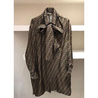 フェンディ(FENDI)の【FENDI】21SS シャツ ドレス(ひざ丈ワンピース)