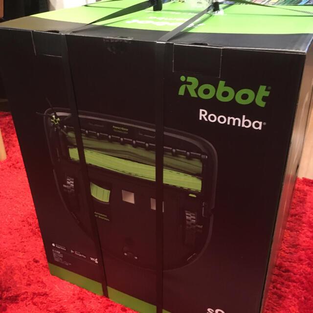 iRobot(アイロボット)の5年保証!!【新品 未使用!!】ルンバ s9+ i Robot 掃除機 スマホ/家電/カメラの生活家電(掃除機)の商品写真