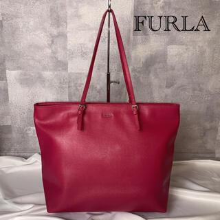 Furla - 【美品!】フルラ トートバッグ  サフィアーノ ピンク A4収納可能
