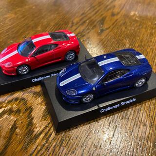 フェラーリ(Ferrari)の京商 ferrari challenge stradale  赤 青 2台set(ミニカー)