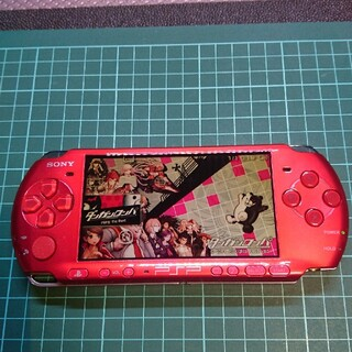 PlayStation Portable - PSP 3000 レッド